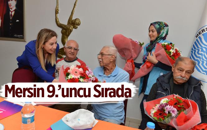 Mersin Türkiye'de 9. Sırada