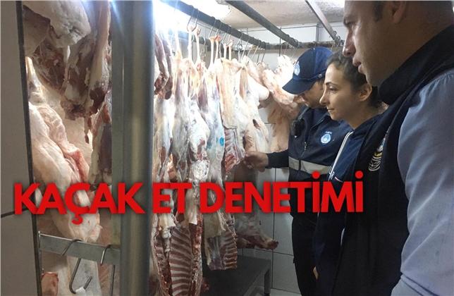 Mersin'de Mühürsüz Et Satışı Yapan İşletmeler Tespit Edildi
