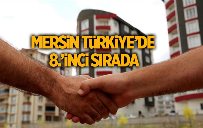 Mersin'de Ekim ayında 2 bin 422 konut satıldı