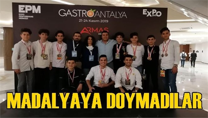 Tarsus Ashâbı Kehf Mesleki ve Teknik Anadolu Lisesi Öğrencileri, Tarsus'un Gururu Oldu