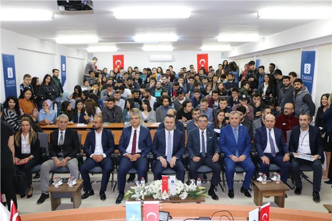 Tarsus Ticaret ve Sanayi Odası Başkanı Ruhikoçak'tan Öğrencilere Tavsiyeler