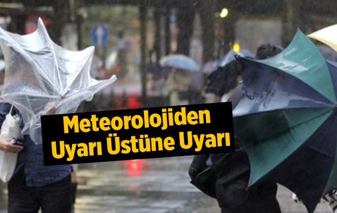 Meteorolojiden Doğu Akdeniz İçin Fırtına Uyarısı