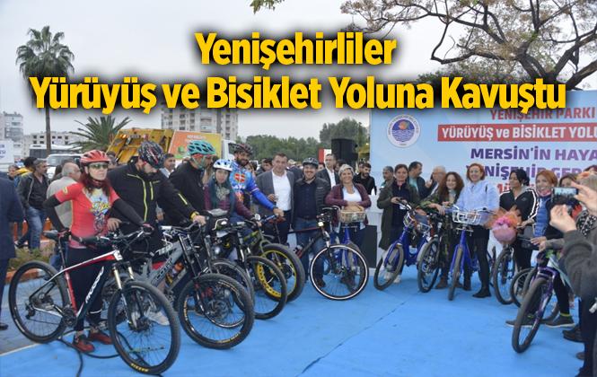 Yenişehirliler Estetik Bir Yürüyüş ve Bisiklet Yoluna Kavuştu