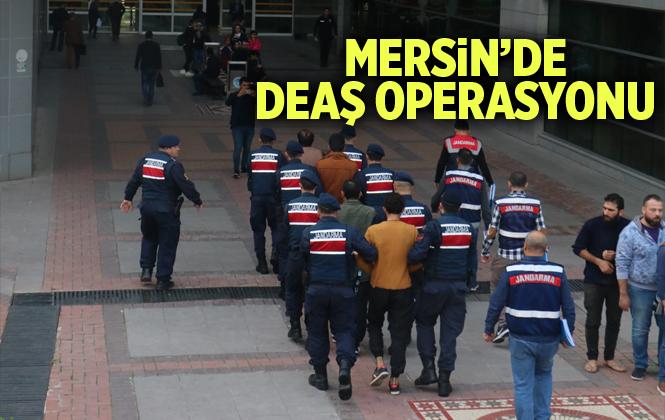 Mersin'de DEAŞ Operasyonunda 2 Kişi Tutuklandı