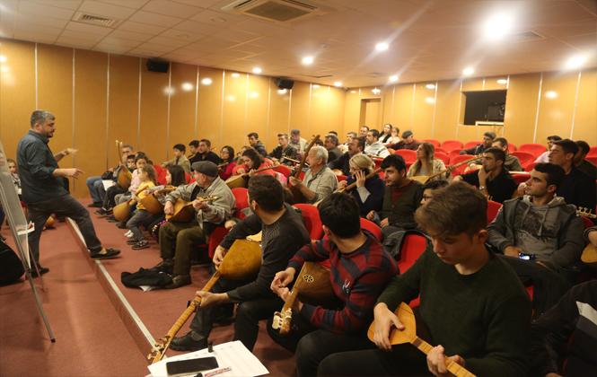 Erdemli'de Belediyenin Sanat Kurslarına Büyük İlgi
