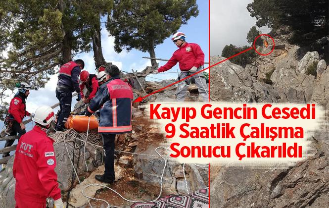 5 Gündür Kayıp Olan Mehmet Eker'in Cesedine 9 Saatlik Çalışmayla Ulaşıldı
