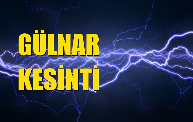 Gülnar Elektrik Kesintisi 07 Aralık Cumartesi