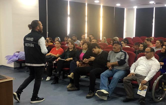 Mersin'de Uyuşturucu İle Mücadele Eğitimi Verildi