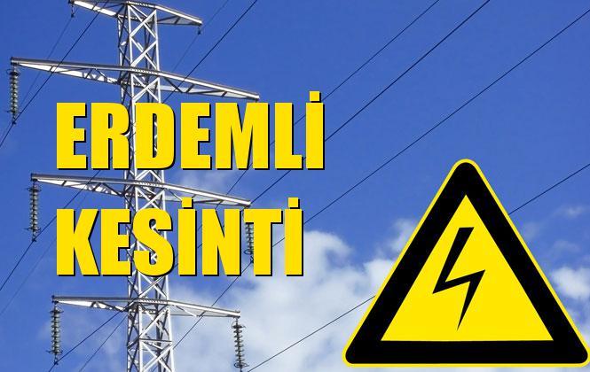 Erdemli Elektrik Kesintisi 10 Aralık Salı
