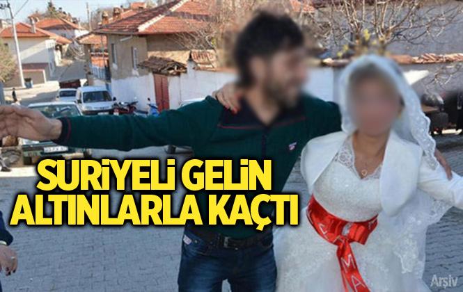 Mersin Tarsus'ta Suriyeli Gelinin Takılarla Kaçtığı İddia Edildi
