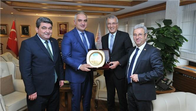 Mezitli Belediye Başkanı Tarhan Ankara'dan Aratos Müjdesi İle Geldi
