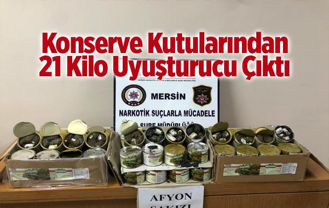 Mersin'de 21 Kilo 850 Gram Afyon Sakızı Ele Geçirildi. Afyon Sakızı Nedir?