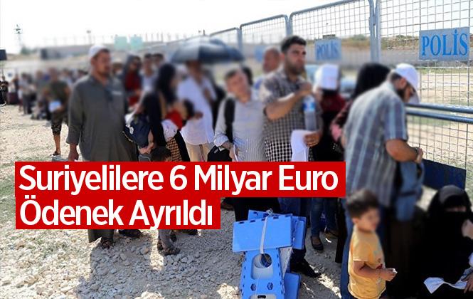 Avrupa Birliği, Türkiye'deki Suriyeliler İçin 6 Milyar Euro Ödenek Ayrıldığını Açıkladı