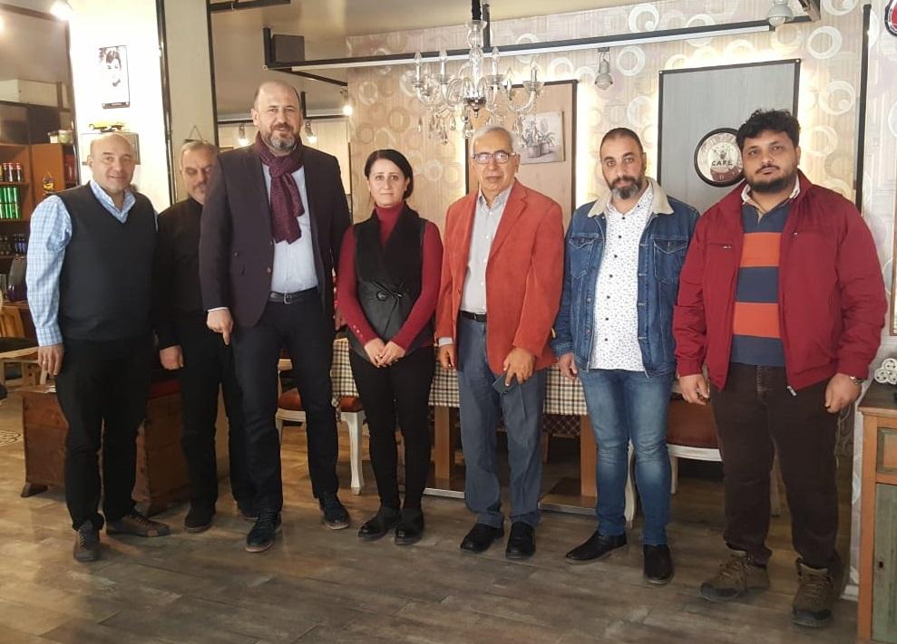 Gazeteci – Yazar Oral Çalışlar, Tarsus Gazeteciler Cemiyeti İle Kahvaltıda Buluştu