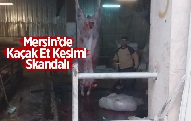 Tarsus'ta 173 Kilo Kaçak Kesim Et Ele Geçirildi
