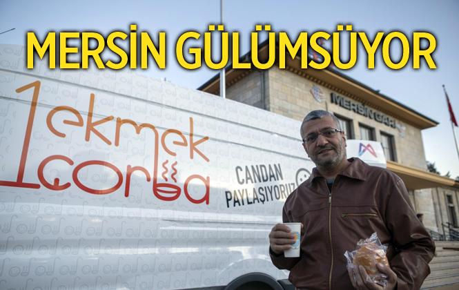 """Mersin'i Gülümseten Proje: """"1 Ekmek 1 Çorba"""""""