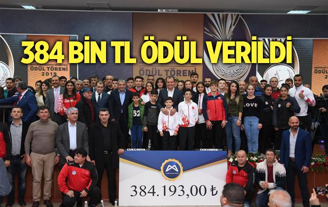 Mersin'de Farklı Branşlardan 93 Sporcuya, 384 Bin Lira Para Ödülü Verildi