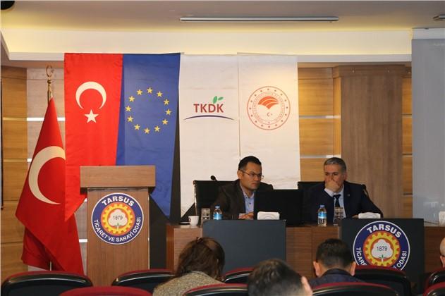 Tarsus TSO'da IPARD 8. Çağrı Programı Anlatıldı