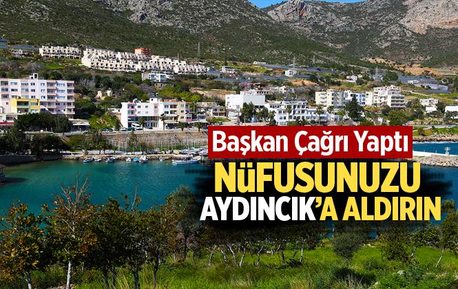 """Aydıncık Belediye Başkanı Ferat Aktan'dan Çağrı """"Nüfusunuzu Aydıncık'a Aldırın!"""""""