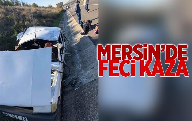 Mersin Tarsus'ta Feci Kaza 3 Yaralı