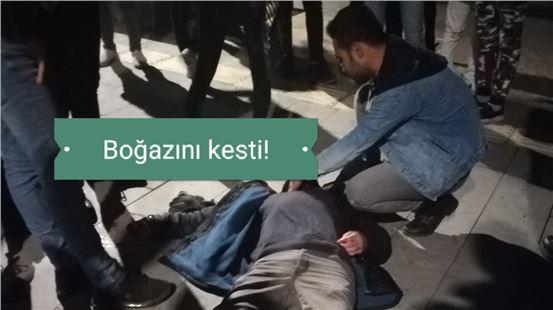 Mersin Tarsus'ta Bir Kişi Kendi Boğazını Jiletle Keserek İntihara Kalkıştı