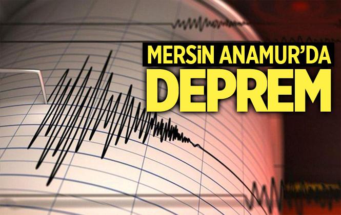 Mersin Anamur'da Deprem