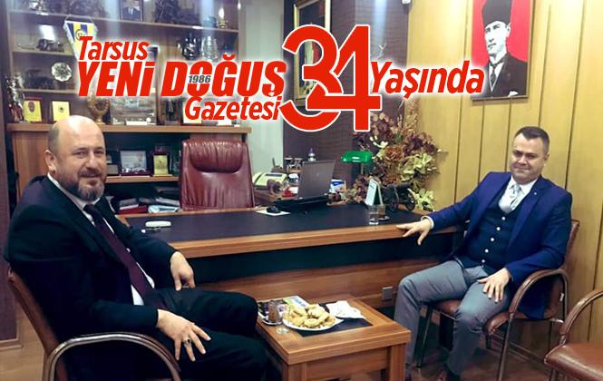 Tarsus Yeni Doğuş Gazetesi 34.'üncü Yaşına Giriyor