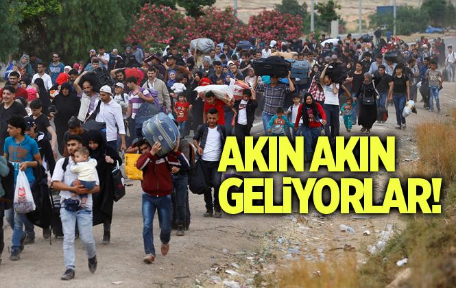 Cumhurbaşkanı Erdoğan; 50 Bin Suriyeli Türkiye'ye Doğru Geliyor