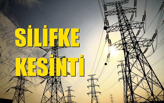 Silifke Elektrik Kesintisi 22 Aralık Pazar
