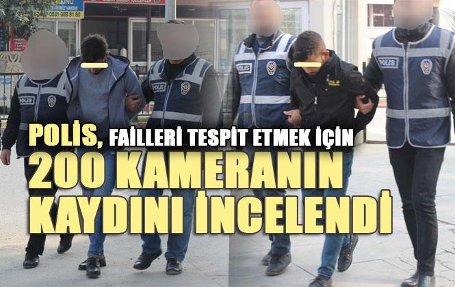 Mersin Tarsus'ta Polis, Motosikletli Silahlı Saldırı Olayının Faillerini, 200 Kamerayı İnceleyerek Tespit Etti