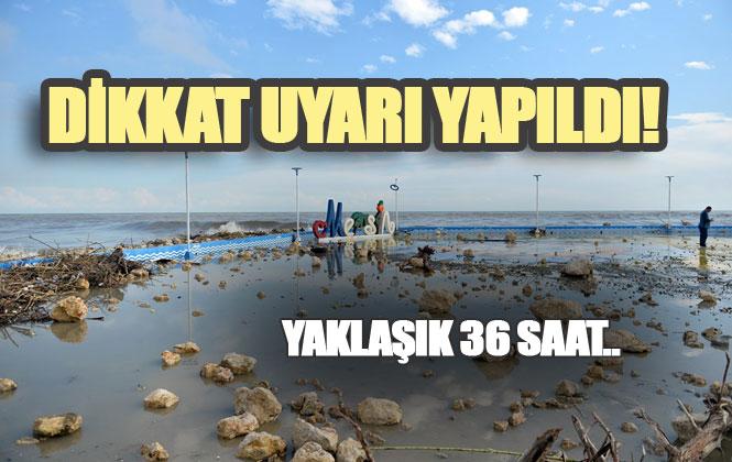 Mersin ve Antalya'ya Pazartesi ve Salı Günü İçin Meteorolojik Uyarı Yapıldı!