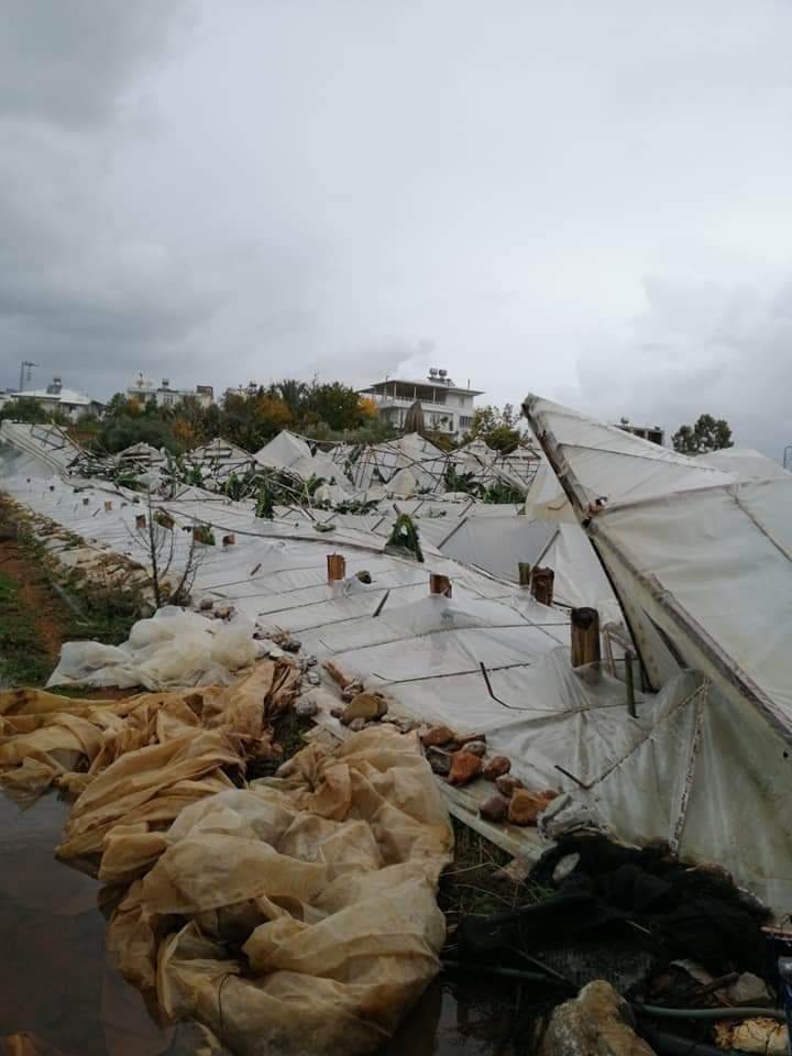 Mersin Anamur'da Hortum Felaketi