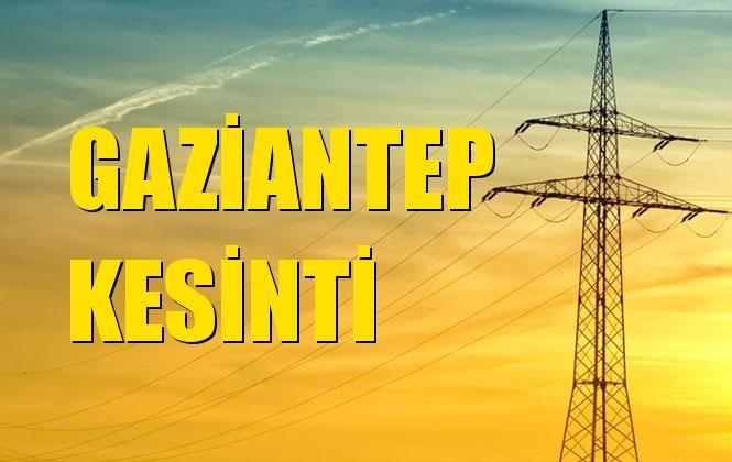 Gaziantep Elektrik Kesintisi 25 Aralık Çarşamba