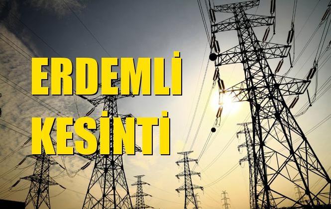 Erdemli Elektrik Kesintisi 26 Aralık Perşembe