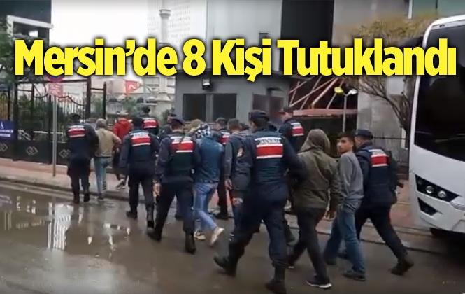 Mersin'de Kablo Çalan 8 Kişi Tutuklandı