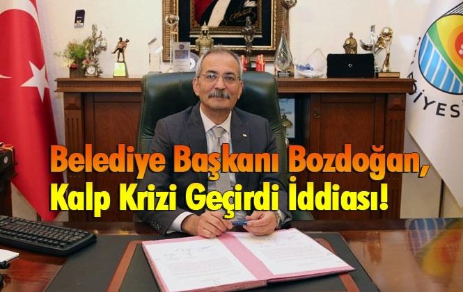 Kalp Rahatsızlığı Geçiren Tarsus Belediye Başkanı Dr. Haluk Bozdoğan Hastaneye Kaldırıldı İddiası