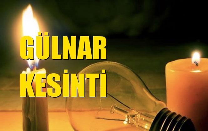 Gülnar Elektrik Kesintisi 27 Aralık Cuma