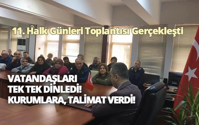 Mersin Tarsus'ta Kaymakamın Vatandaşı Dinlediği, Halk Günü Toplantısının 11.'si Gerçekleşti