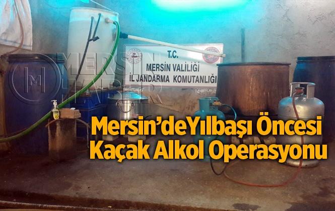 Mersin Tarsus'ta Kaçak Alkol Operasyonu