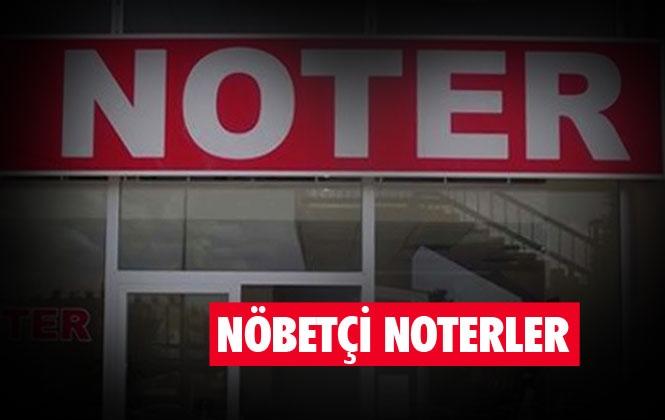 28 Aralık Cumartesi Nöbetçi Noter - Mersin ve Tarsus