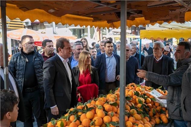 Başkan Seçer, Yenipazar Esnafı İle Bir Araya Geldi