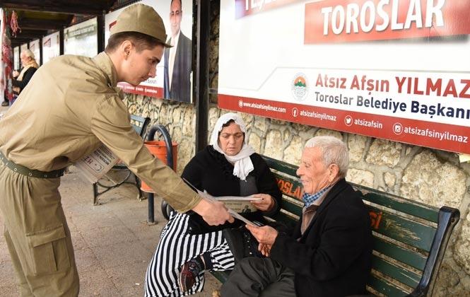 """Atatürk'ün İlk Gazetesi """"Minber"""", Toroslar'da Yeniden Hayat Buldu"""
