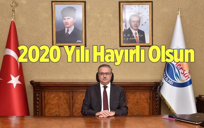 Mersin Valisi Ali İhsan Su'dan Yeni Yıl Mesajı