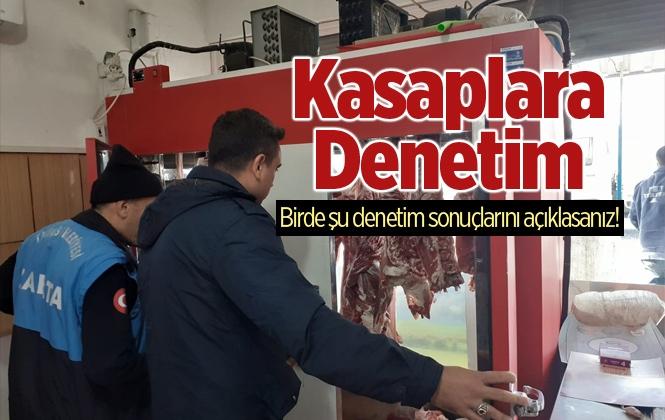 Mersin Tarsus'ta Kasaplara Denetim