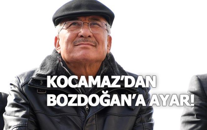 2019'un Son Saatlerinde Burhanettin Kocamaz'dan Açıklama İle Haluk Bozdoğan'a Ayar!