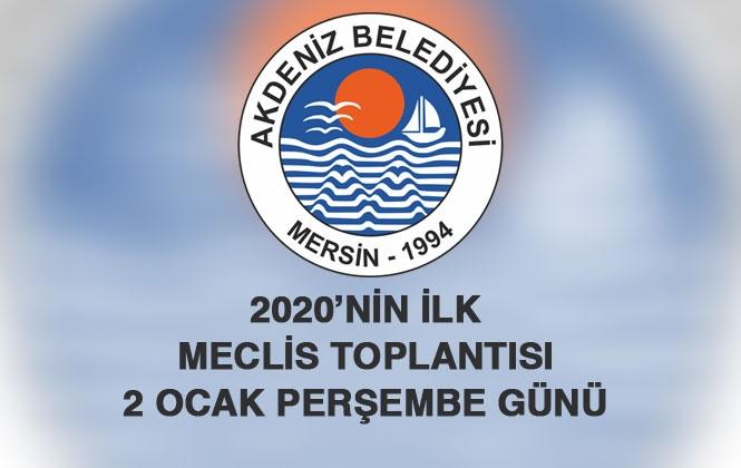 Akdeniz Belediye Meclisi 2020 Yılının İlk Meclis Toplantısını Yapıyor