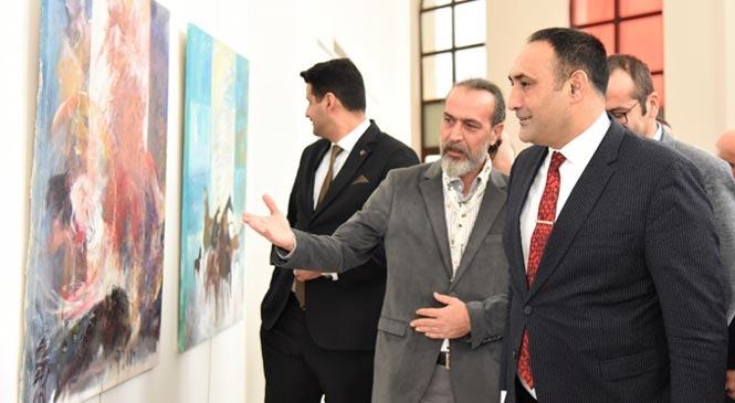 Türk Medeniyetinin Zenginlikleri, Renklerle Tuvale Yansıdı