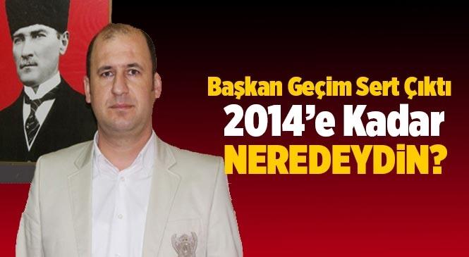 TGC Başkanı Emre Geçim'den, Tarsus Belediye Başkanı Haluk Bozdoğan'a Sert Çıkış