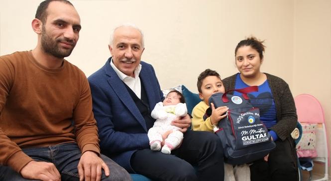 """""""Hoş Geldin Bebek"""" Projesi Aileleri Mutlu Ediyor"""