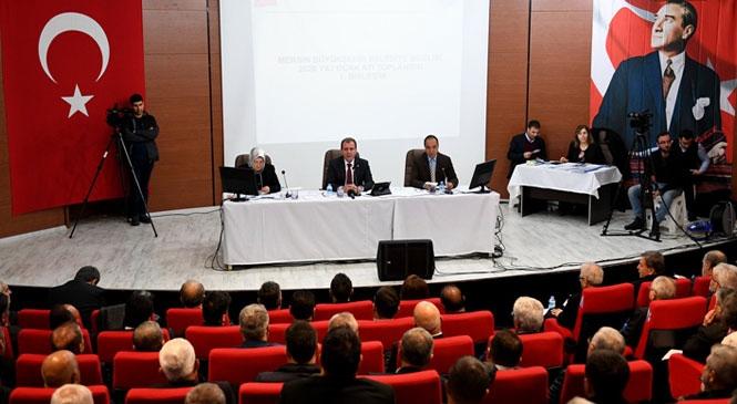 Mersin Büyükşehir Belediye Meclisi, 2020'nin İlk Toplantısını Merkeze En Uzak İlçe Olan Mut'ta Yaptı